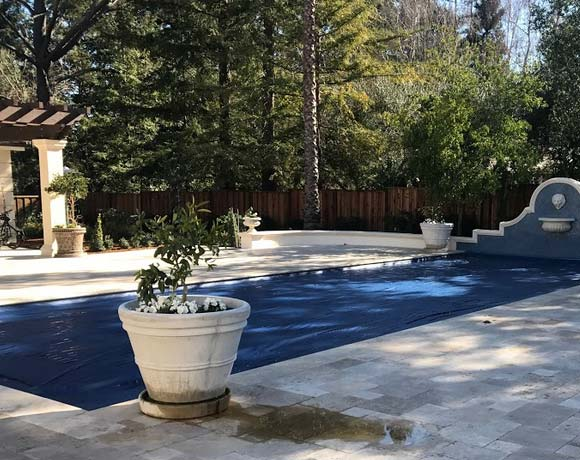 a pool removal in Concord