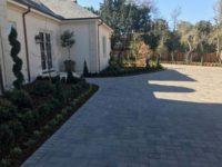 backyard pavement