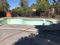 Stan is working on demolishing a pool