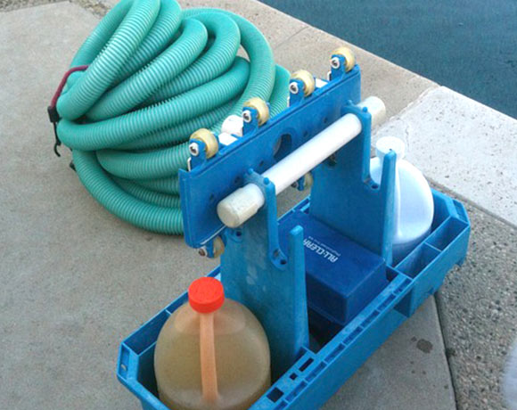 swimming pool maintenance tools
